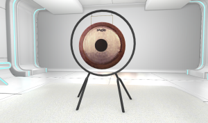 Mind Fitness Mobile App - Practice Room - Gong